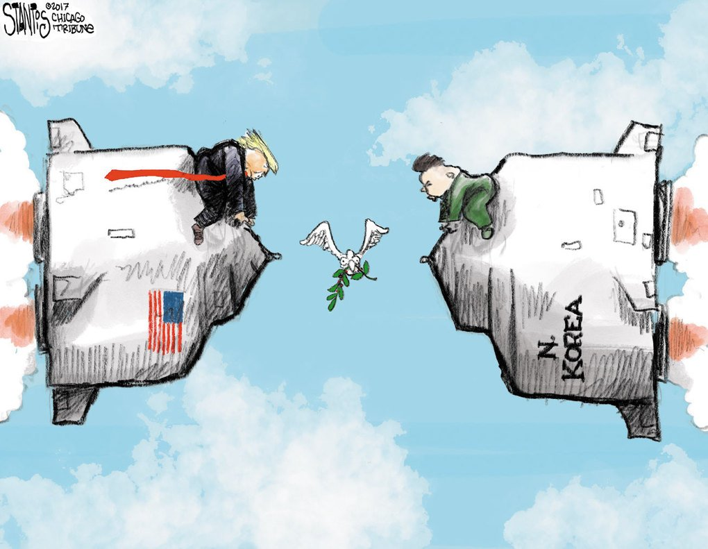 ترامب يدعو تيلرسون إلى الكف عن إهدار الوقت مع كوريا الشمالية