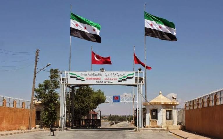 الجبهة الشامية تسلم باب االسلامه والكلية العسكرية لحكومة المعارضة