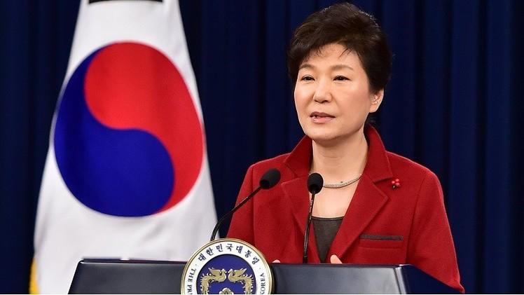 """رئيسة كوريا المخلوعة تصف محاكمتها بأنها """"انتقام سياسي"""""""
