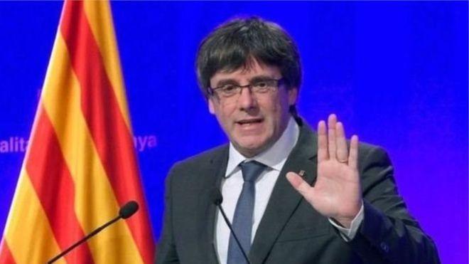 رئيس كتالونيا يقرر عدم إلقاء بيانه في مجلس الشيوخ الاسباني