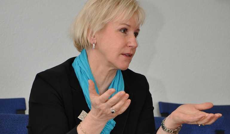 وزيرة الخارجية السويدية مارجوت فالستروم