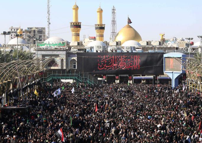 ملايين الشيعة يحييون أربعينية الإمام الحسين في كربلاء العراق