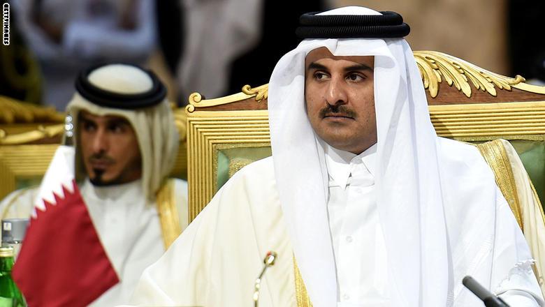 """أمير قطر : """"لا غالب ولا مغلوب"""" في الأزمة الخليجية"""