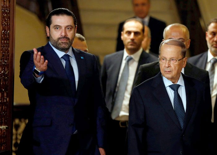 الحريري أبلغ عون بالعودة ولمشاركة في الاحتفال بعيد الاستقلال