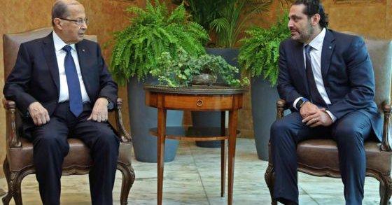 """الحريري """"يتريث في الاستقالة"""" و يأمل بحلول عبر الحوار"""