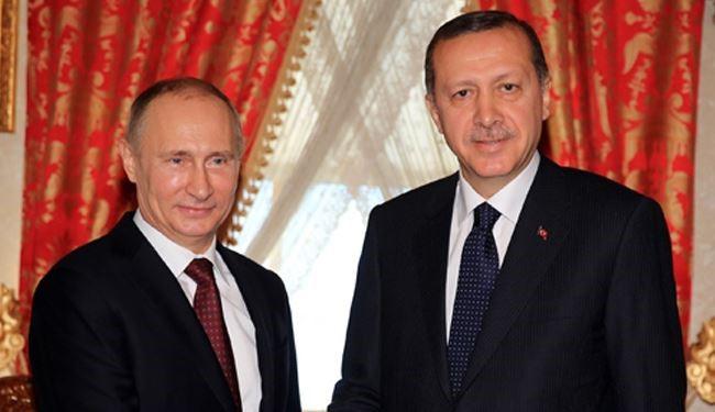 بوتين وأردوغان يبحثان مستقبل تسوية الأزمة السورية