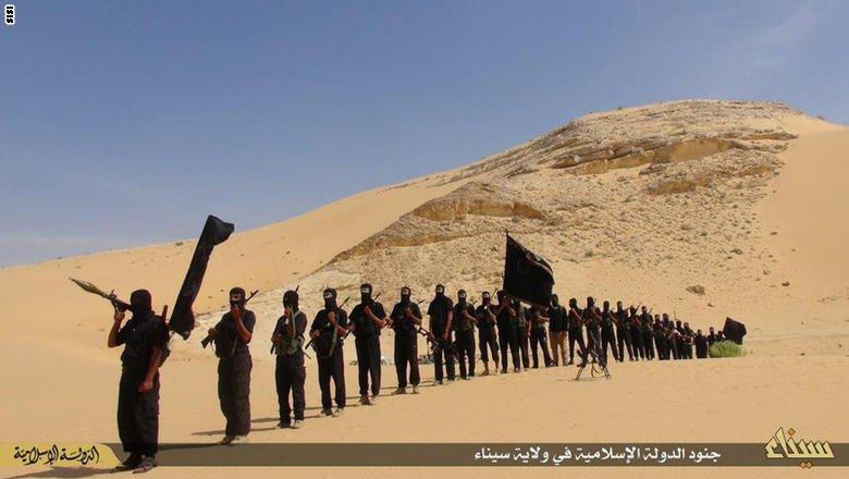 ملثمون يفجرون منزل ضابط جيش خال من السكان في شمال سيناء