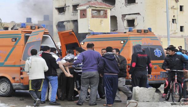 إصابة 9جنود وضباط بانفجار بالعريش  وهجوم في بئر العبد