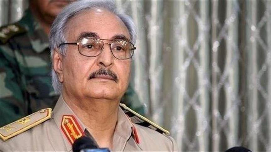 حفتر: الجيش يدعم الانتخابات كمخرج وحيد للأزمة في ليبيا