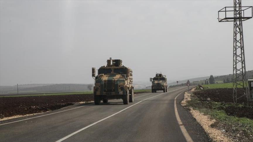 إمدادات عسكرية تصل للوحدات التركية على الحدود السورية