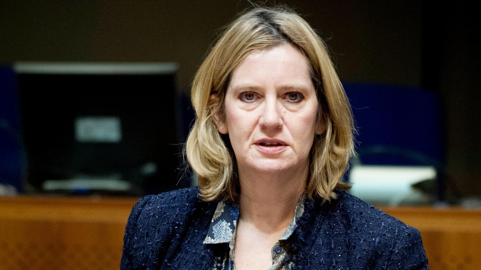 وزيرة الداخلية امبر رود