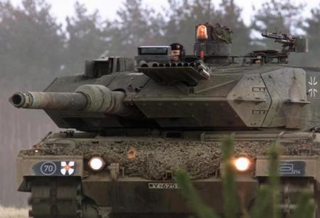 أكراد يتحركون لمنع الاستخدام التركي للدبابات الألمانية في عفرين