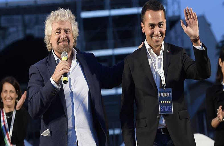 """""""حركة النجوم الخمسة"""" تسعى لطمأنة أوروبا قبل الانتخابات الإيطالية"""
