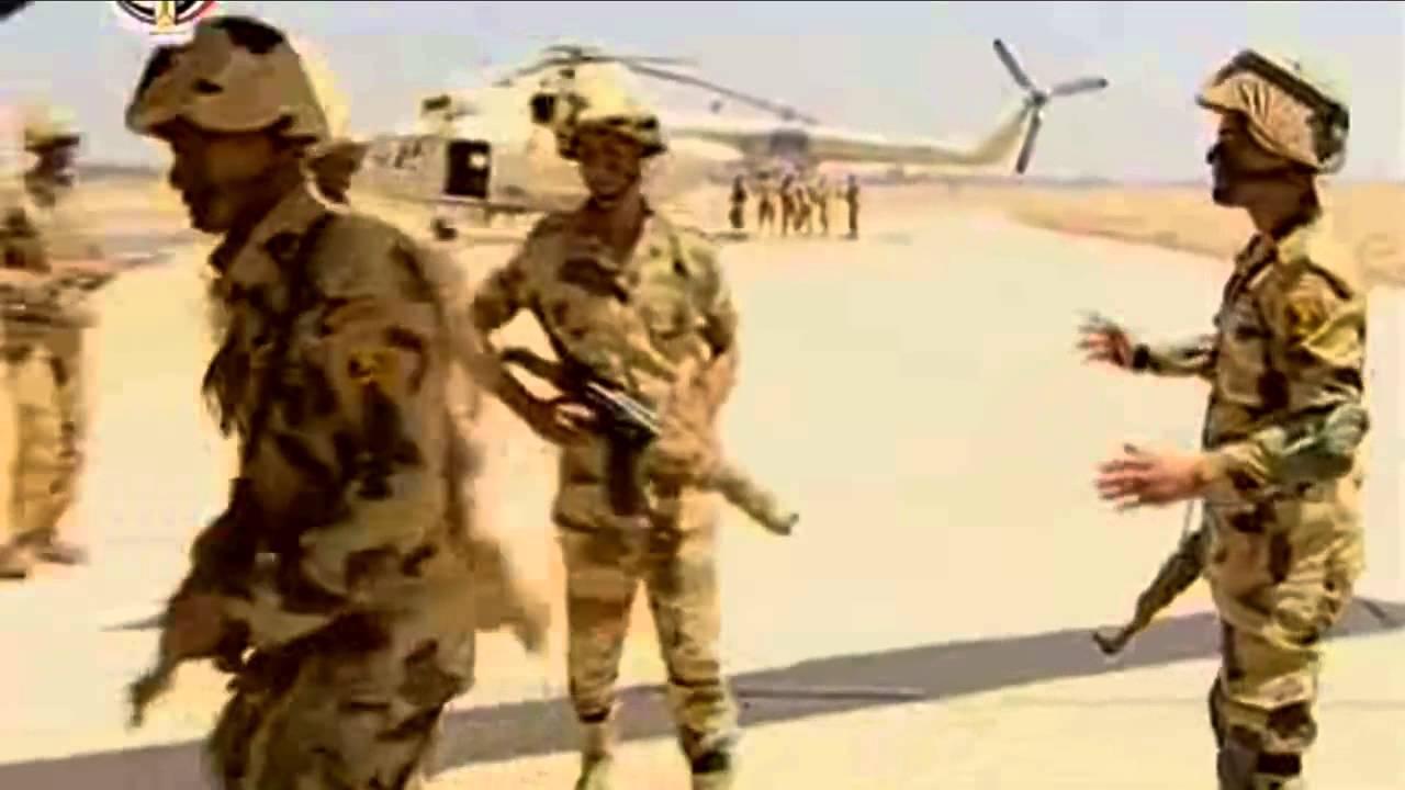 """الجيش المصري يقضي على 12 مسلحا بعملية""""سيناء 2018"""""""