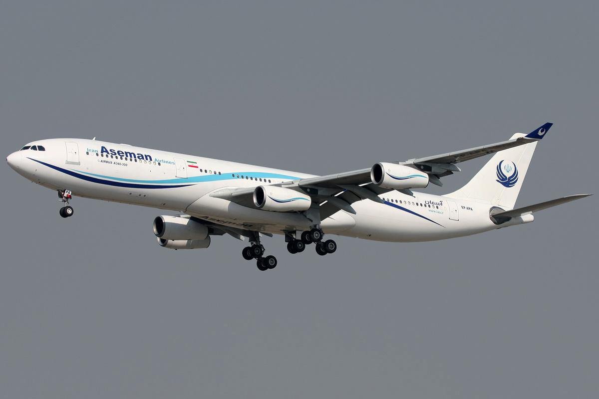 مقتل جميع ركاب طائرة إيرانية تحطمت وسط البلاد