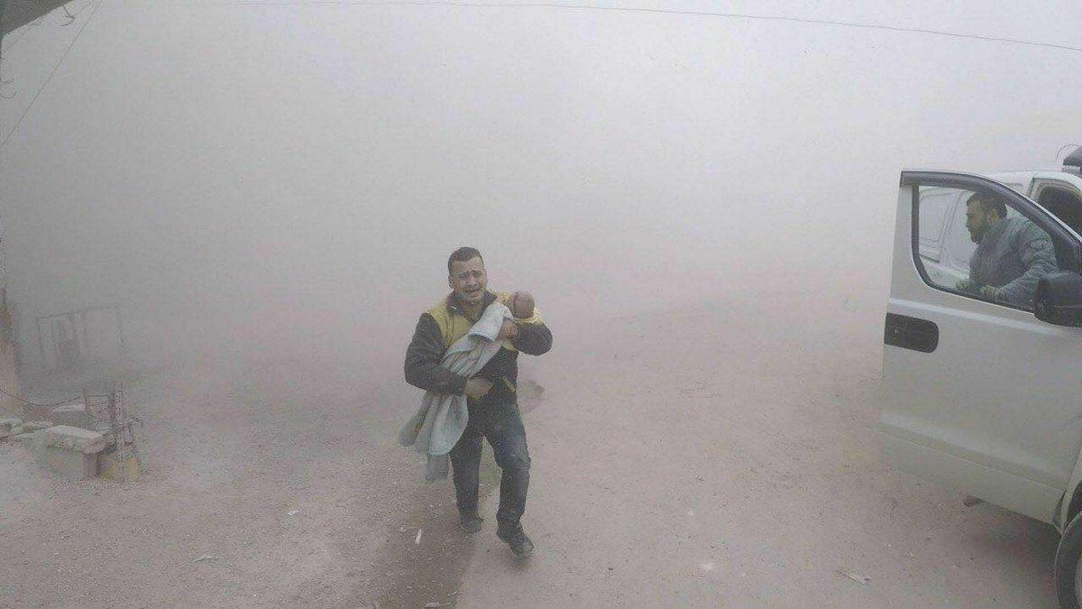 الدفاع المدني السوري : تجدد القصف على الغوطة الشرقية