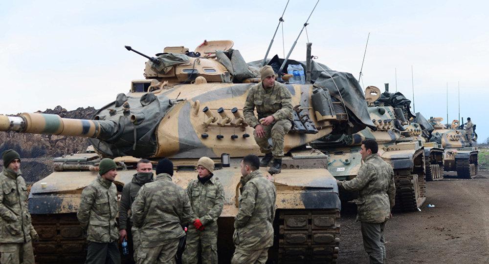 دخول مجموعات من القوات الشعبية التابعة للجيش السوري عفرين