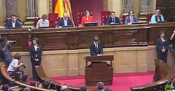 زعيم إقليم كتالونيا المنفي بوجديمون، يعلن عدم سعيه لرئاسة الإقليم