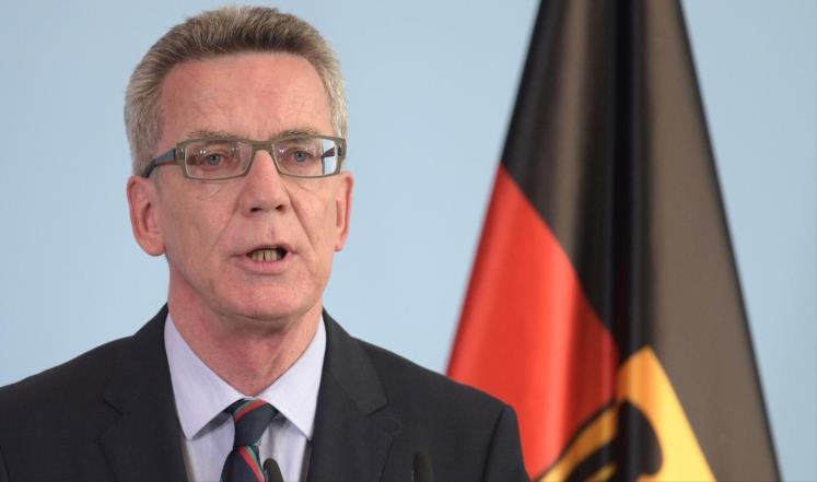 وزير الداخلية الالماني