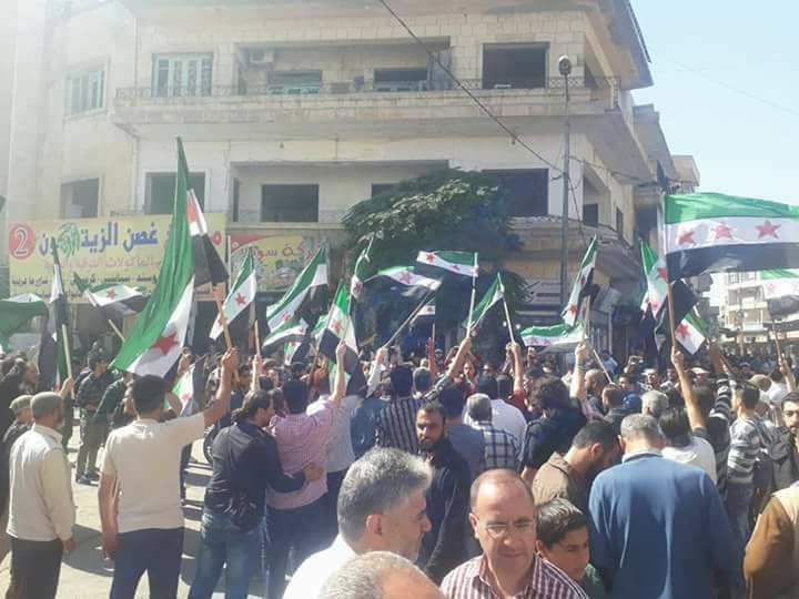 الاختراقات الكبرى في الثورة السورية