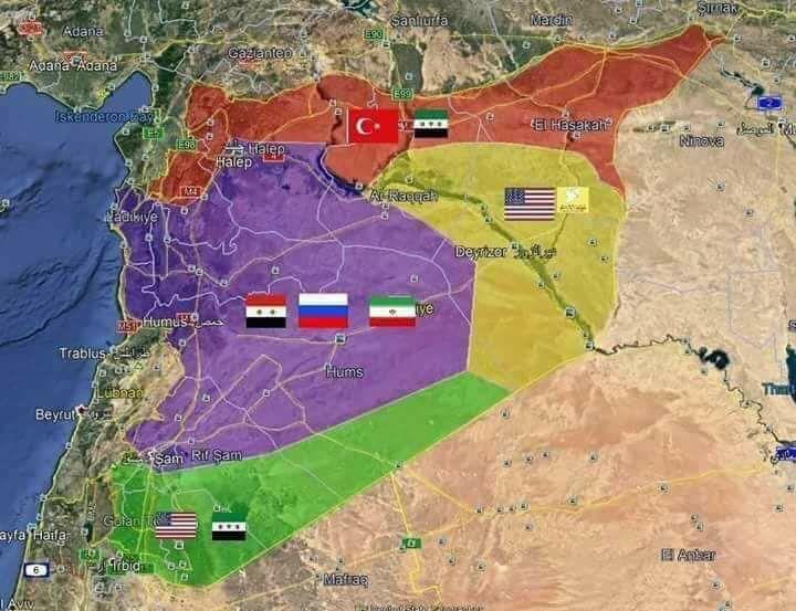إسرائيل تشعر بالقلق إزاء خطط إيران لما بعد نهاية الحرب السورية