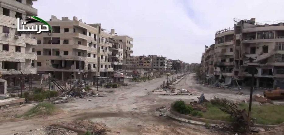اتفاق لوقف اطلاق النار بدوما ومسلحو حرستا يتجهون لاعزاز