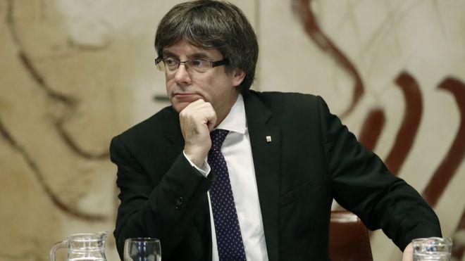 فنلندا تتلقى طلبا باعتقال رئيس كتالونيا السابق بوجديمون