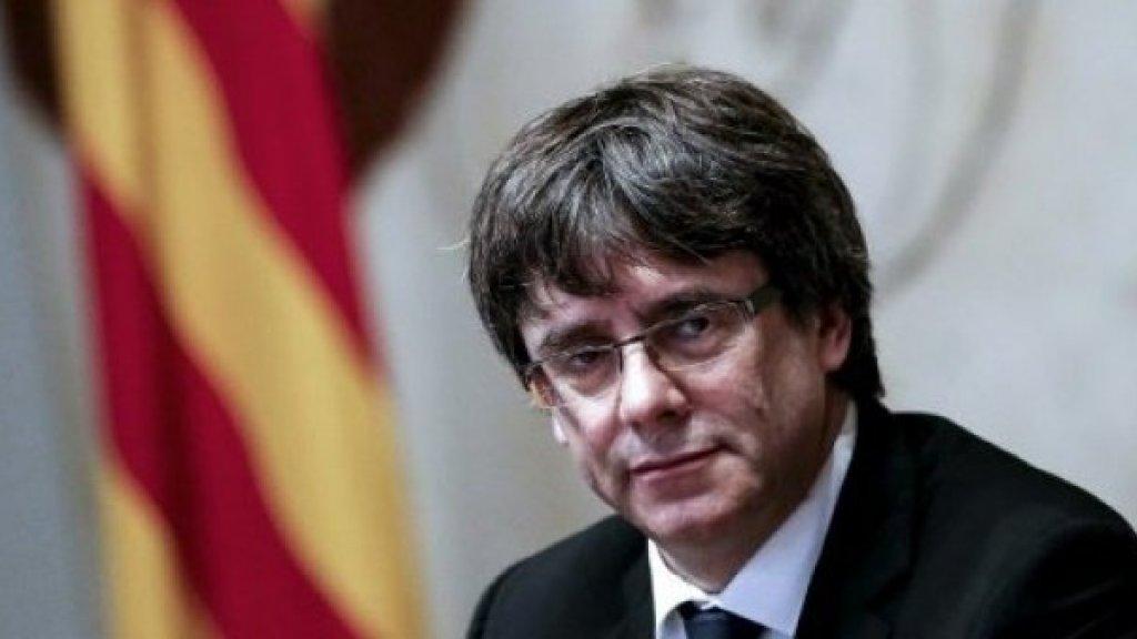 الادعاءالألماني يدرس وضع زعيم إقليم كتالونيا السابق بعد توقيفه