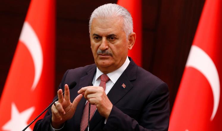 """يلدريم: تنظيم """"ب ي د"""" الإرهابي لا يستطيع خداع تركيا بتغيير اسمه"""