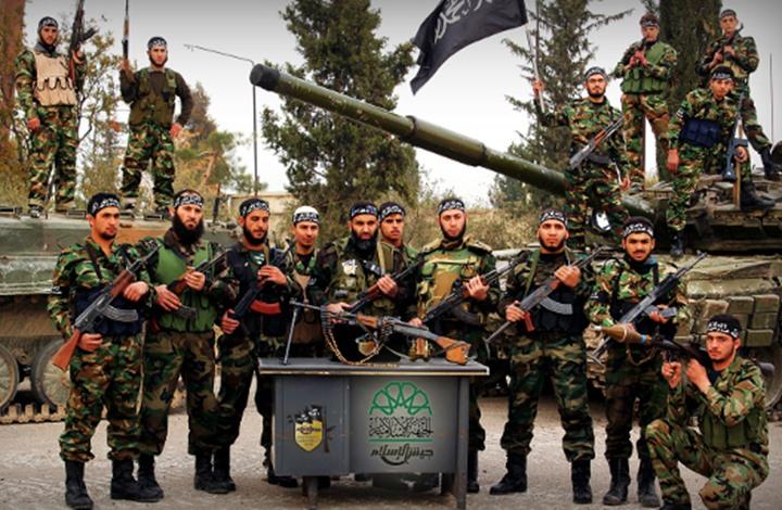 بدء إجلاء مقاتلين من المعارضة المسلحة من دوما إلى شمال سورية