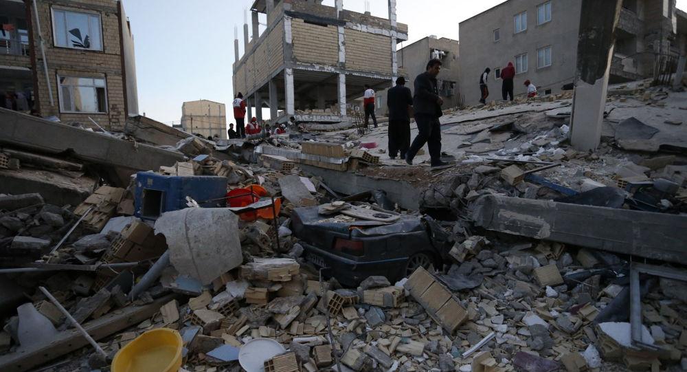ارتفاع عدد مصابي زلزال كرمنشاه غربي إيران إلى 54شخصا