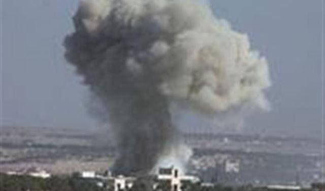 طائرتان إسرائيليتان استهدفتا مطار التيفور العسكري السوري