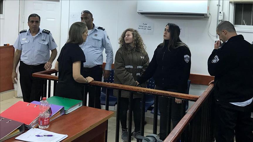 عائلة عهد التيمي تتهم محققا إسرائيليا بالتحرش بها لفظيا