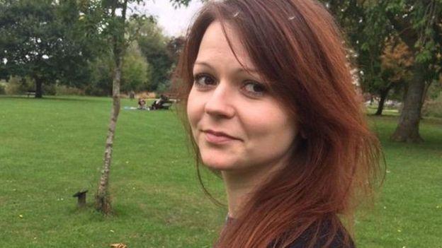 يوليا سكريبال ترفض المساعدة من السفارة الروسية