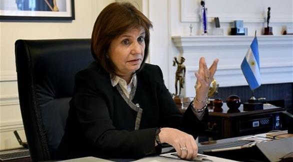 وزيرة الأمن الأرجنتينية باتريشيا بولريتش