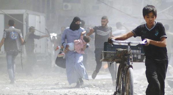 للمرة الثانية..خبراء الاسلحة الكيميائية يزورون دوما السورية