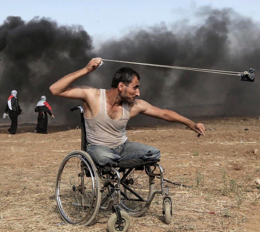 مقعد فلسطيني استشهد صباح اليوم