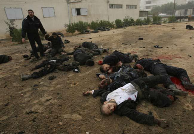 ارتفاع عدد قتلى مواجهات أمس في قطاع غزة إلى 59