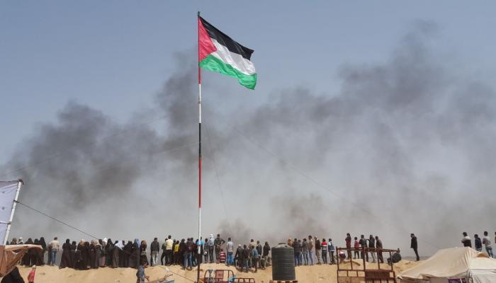 إصابة أكثر من مائة فلسطيني في مواجهات  شرق قطاع غزة