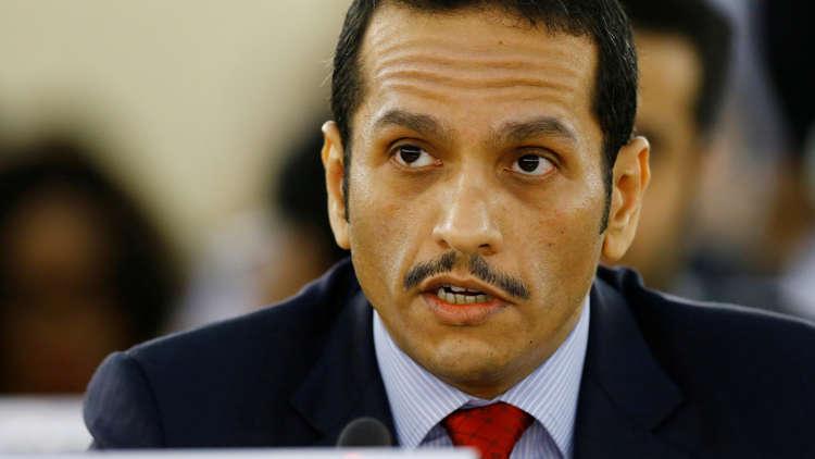 وزير خارجية قطر:لم نُخطَر رسميا بعقد قمة خليجية أمريكية بسبتمبر