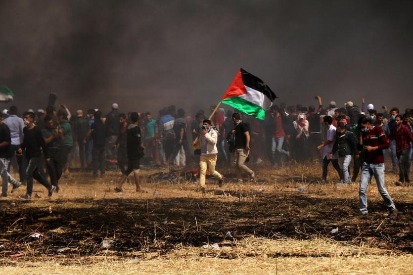 مقتل 4 وإصابة المئات في مواجهات عند اطراف قطاع غزة