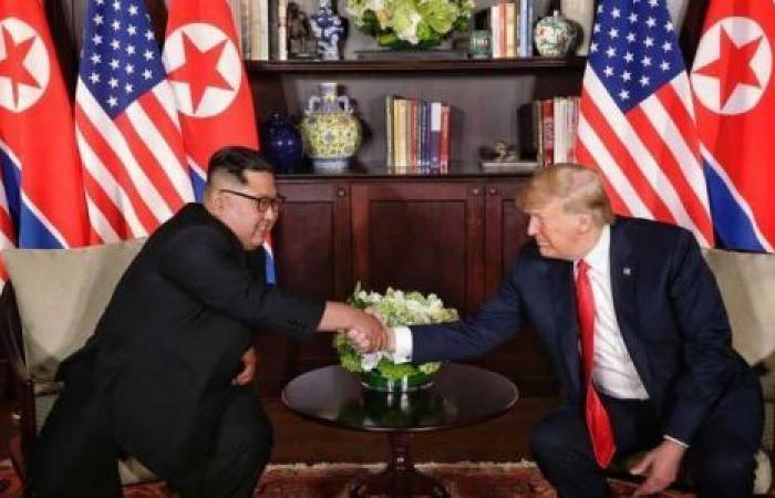ترامب متفائل بنزع السلاح النووي الكوري الشمالي بعد سنغافوره