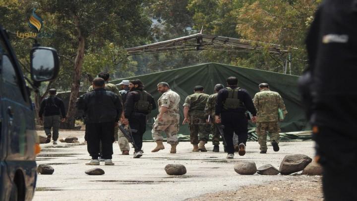 خارطة حل مؤقت قدمها الجيش الحر للروس في الجنوب السوري