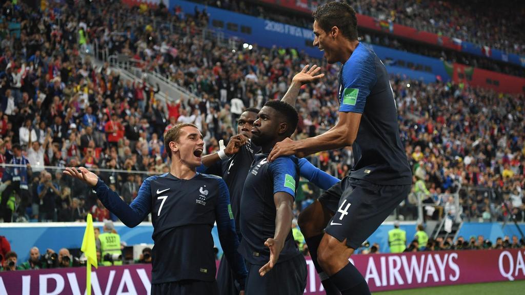 اومتيتي يسقط بلجيكا ويرسل ديوك فرنسا لنهائي المونديال