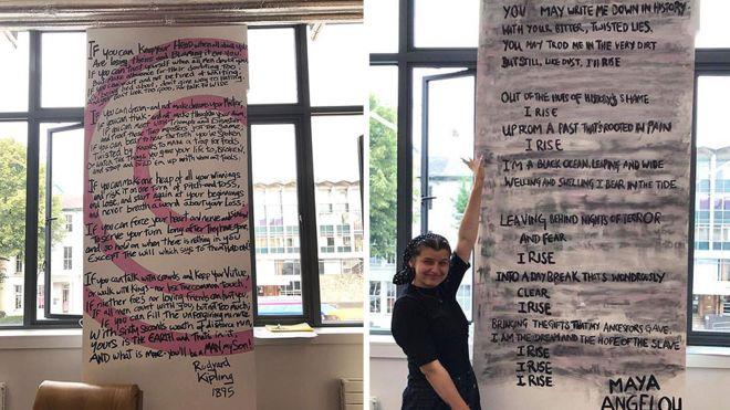 """طلبة مانشستر يمحون قصيدة لشاعر كبير توصف """"بالعنصرية"""""""