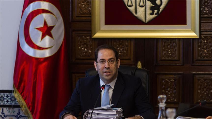"""50 محاميًا تونسيًا يشكون """"الشاهد"""" في شبهة تلقي أموال"""