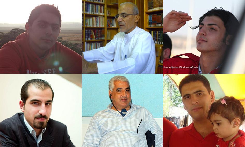 حمد عطفا من النشطاء السياسيين والصحفيين وعمّال القطاع الإنساني والمحامينالذين أخفتهم الحكومة السورية.