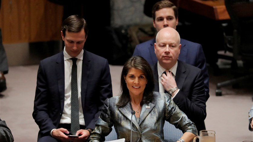 """فريق ترامب اقترح على عباس """" كونفدرالية """" مع الأردن"""