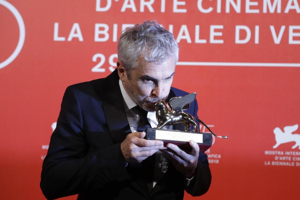 """فيلم """"روما"""" يفوز بجائزة الأسد الذهبي في مهرجان فينيسيا"""