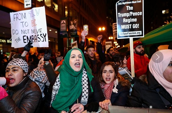 أغلبية فلسطينية ترفض إعادة الإتصال بالإدارة الأمريكية